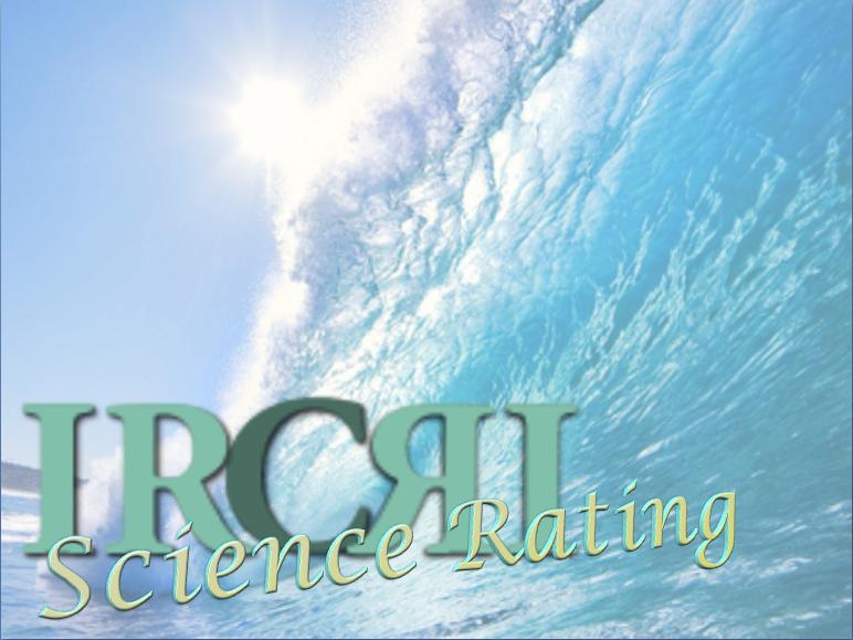 Ircri Science Rating